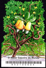 Brazil 2006 Cashew Nut Tree souvenir sheet unmounted mint.