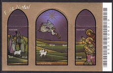 Brazil 2006 Christmas souvenir sheet unmounted mint.