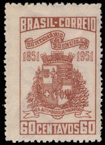 Brazil 1951 Joinville unmounted mint.