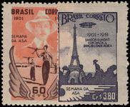 Brazil 1951 Week of the Wing unmounted mint.
