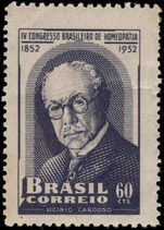 Brazil 1952 Homeopathic Congress unmounted mint.