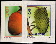 Brazil 2000 Fruits unmounted mint.