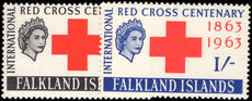 Falkland Islands 1963 Red Cross unmounted mint.