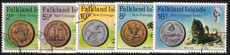 Falkland Islands 1975 New Coinage fine used.