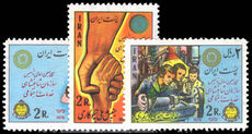 Iran 1976 Social Services unmounted mint.