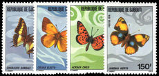 Djibouti 1978 Butterflies unmounted mint.