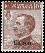 Caso 1912-21 40c brown unmounted mint.