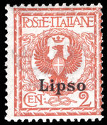 Lipso 1912-21 2c orange-brown lightly mounted mint.