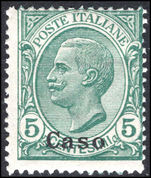 Caso 1912-21 5c green unmounted mint.