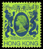 Hong Kong 1985-87 $1.70 fine used.