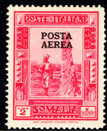 Somalia 1936 unissued 5l air unmounted mint.