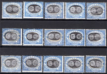 San Marino 1931 Postage Due set fine unmounted mint.