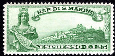 San Marino 1929 Express fine lightly mounted mint.