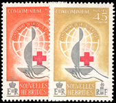French New Hebrides 1963 Red Cross unmounted mint.
