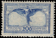 Brazil 1934 National Aviation Congress fine lightly mounted mint.