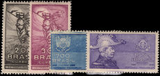 Brazil 1935-36 Ragged Revolution fine lightly mounted mint.