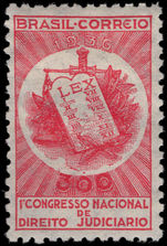 Brazil 1936 Juridicial Congress fine lightly mounted mint.