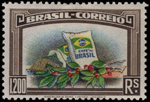 Brazil 1938 Coffee fine lightly mounted mint.