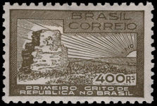 Brazil 1938 Abortive Proclamation fine lightly mounted mint.