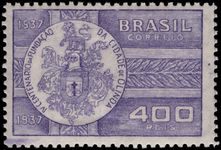 Brazil 1938 Olinda fine lightly mounted mint.