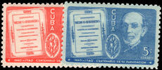 Cuba 1940 First Cuban Medical Review mounted mint.