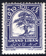 Lebanon 1925 0p50 Cedar mounted mint.