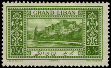 Lebanon 1925 0p50 Tripoli mounted mint.