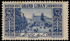 Lebanon 1925 25p Beirut mounted mint.