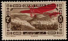 Lebanon 1926 (1st May) 2p air mounted mint.