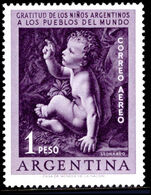 Argentina 1956 Infantile Paralysis unmounted mint.
