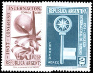 Argentina 1957 Tourist Congress unmounted mint.