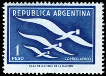Argentina 1957 International Correspondence Week unmounted mint.