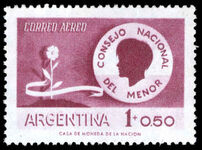Argentina 1958 Child Welfare unmounted mint.