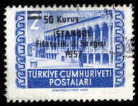 Turkey 1957 2nd Philatelic Exhibition Istanbul fine used.