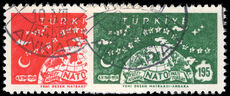 Turkey 1959 10th Anniv of N.A.T.O. fine used.