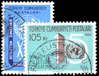 Turkey 1960 United Nations fine used.