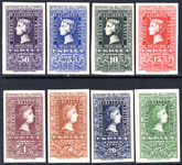 Spain 1950 Stamp Centenary set unmounted mint.