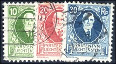 Liechtenstein 1925 Birthday set fine used