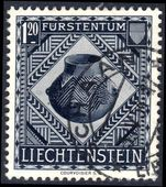 Liechtenstein 1953 National Museum 1fr20 fine used