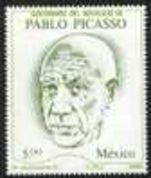 Mexico 1981 Picasso unmounted mint.