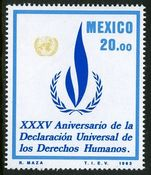 Mexico 1983 Human Rights unmounted mint.