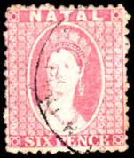 Natal 1863-65 6d lilac very fine used