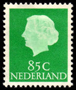 Netherlands 1953-71 85c Green lightly mounted mint.