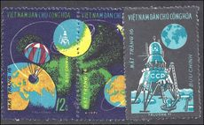 North Vietnam 1971 Luna 16 Space Flight unmounted mint no gum as issued.