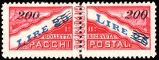 San Marino 1950 Parcel Post 200l on 25l superb lightly mounted mint.