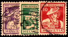 Switzerland 1916 Pro-Juve fine used