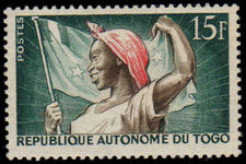 Togo 1957 New National Flag unmounted mint.