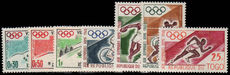 Togo 1960 Olympics set unmounted mint.