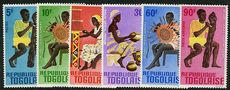 Togo 1966 Costumes and Dance set unmounted mint.