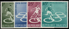 Togo 1964 Tokio Olympics regular set unmounted mint.